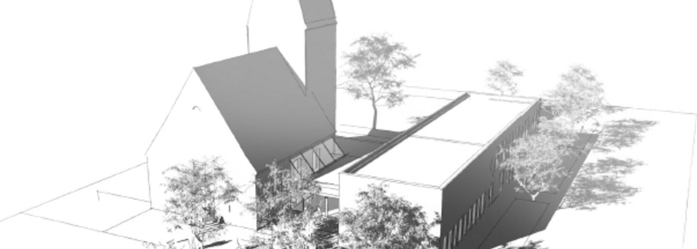 Plan des Neubaus